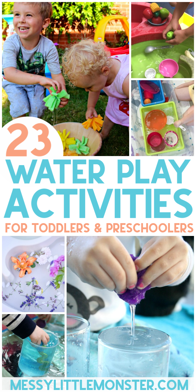 23 fun and easy water play activities for toddlers and preschoolers