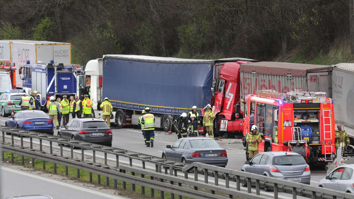 A9 Unfall Gestern