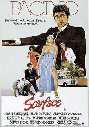 Scarface 1983 BRRip 720p Dual Audio In Hindi English ESub