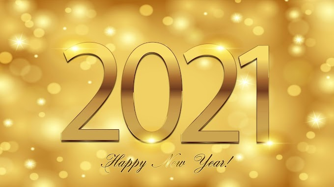 Happy New Year 2021 Background HD Image