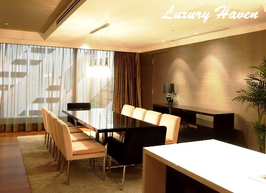 grand park orchard hotel presidential suite dining
