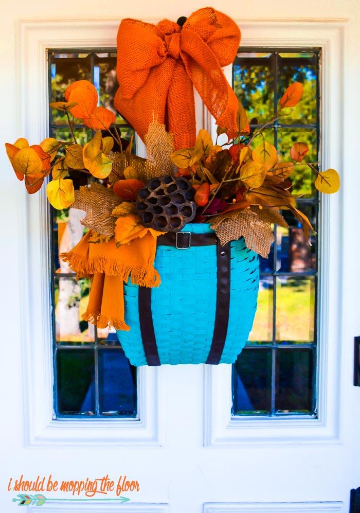 Fall Door Decorating Ideas