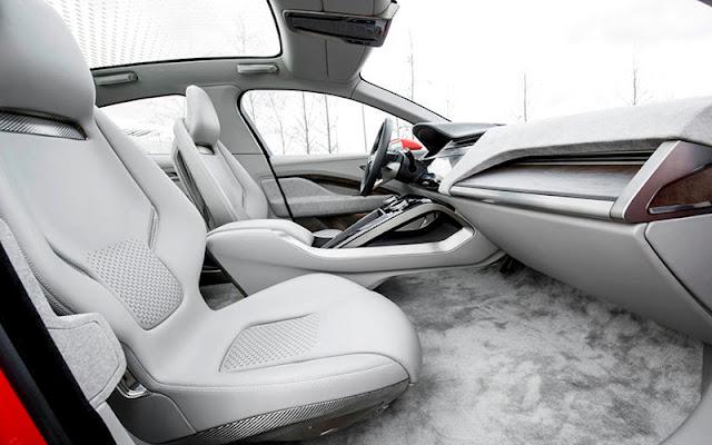 Jaguar I - Pace có tùy chọn chất liệu độc quyền từ thương hiệu Kvadrat