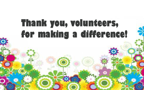 Every Day Is Special April 20 – Volunteer Recognition Day
