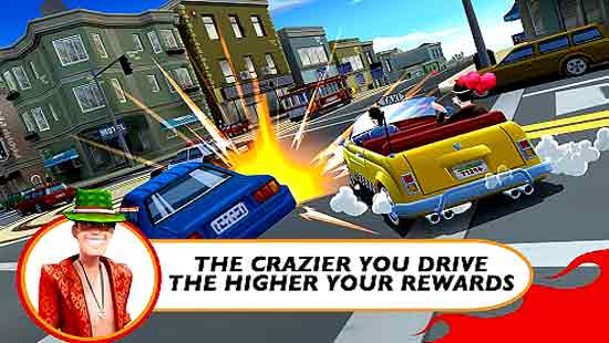 Crazy Taxi City Rush Mod Apk 1.7.6