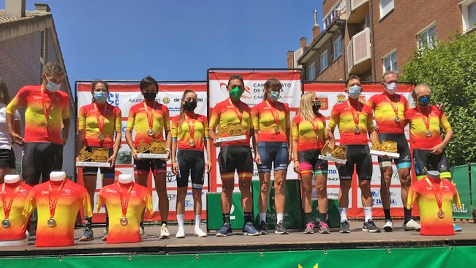 Valladolid corona a los campeones de España máster de carretera en línea 2021