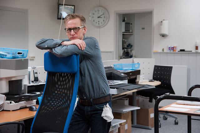Eigenaar Ron de Vries, printkoning