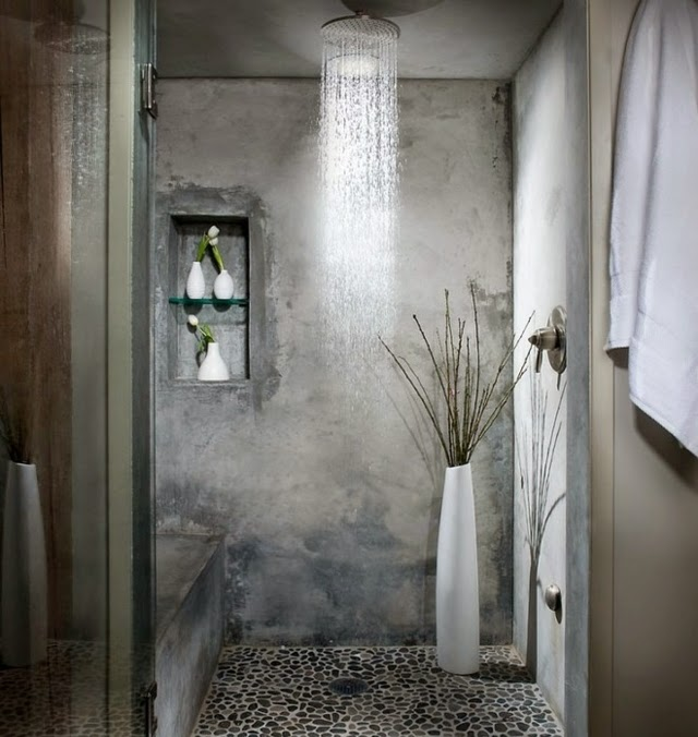 Shower Ideas - to retrofit the bathroom with rain shower ...