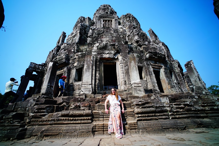 Bayon temple, ancient Angkor