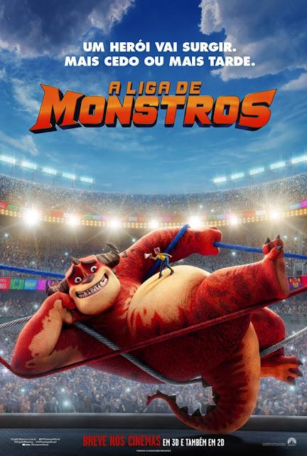 CINEMA: Confira o trailer e cartaz de 'A Liga de Monstros' novo filme da Paramount Animation (COM VÍDEO)