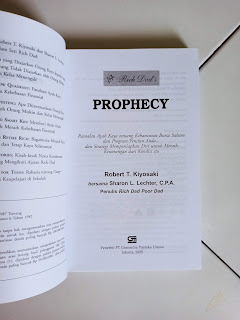 Rich Dad's Prophecy Penulis Robert T. Kiyosaki