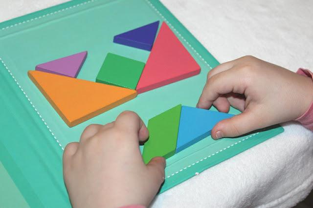tangram aimanté pour les enfants