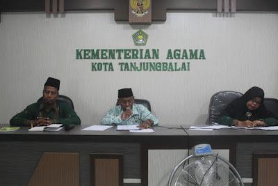 Kemenag Tanjungbalai Gelar Rapat Pembinaan Pegawai Honorer