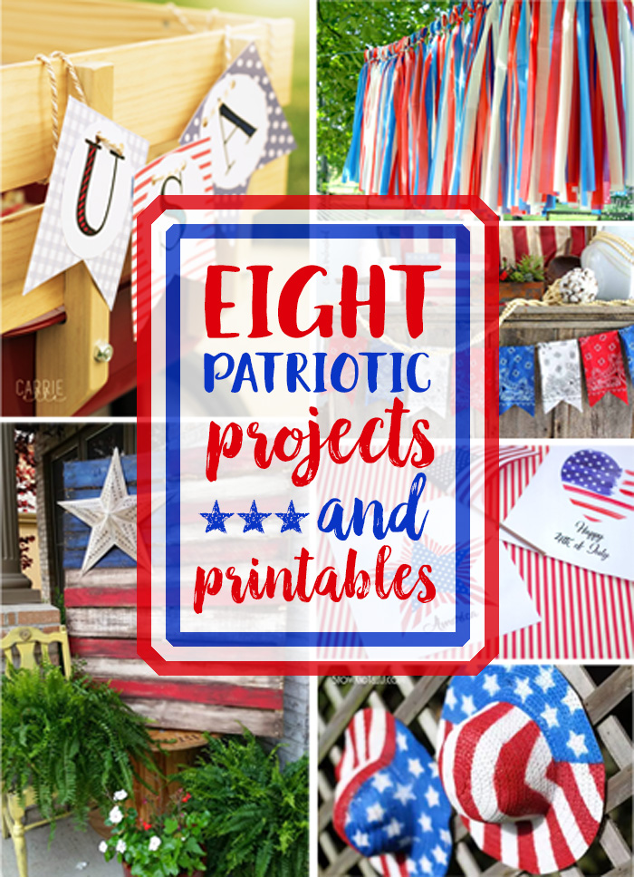 8 Patriotic Projects and Printables - Our Southern Home on fiesta decorations ideas, pool party decorations ideas, cinco de mayo decorations ideas, graduation decorations ideas, halloween tree decorations ideas, strawberry shortcake decorations ideas, beer decorations ideas, cocktail party decorations ideas, weddings decorations ideas, birthday decorations ideas, anniversary decorations ideas,