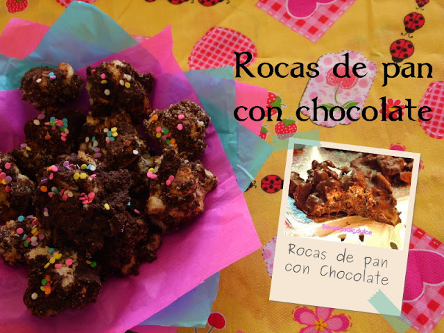 Rocas de Chocolate en Recuerdo de Meritxell