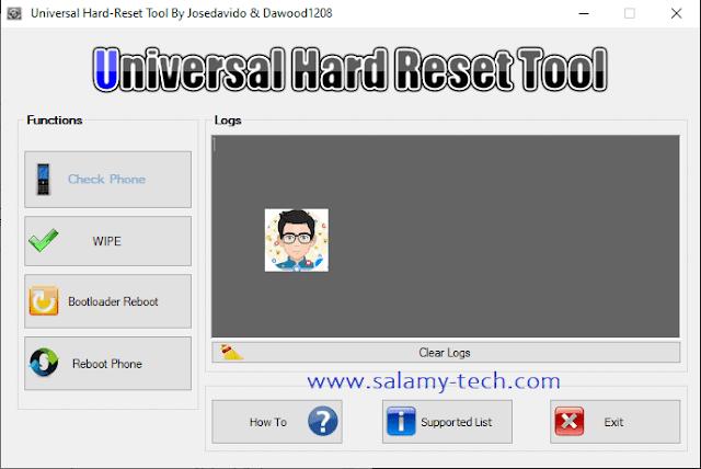 أداة Hard Reset Tool فورمات جميع الهواتف بوضع الفاست بوت