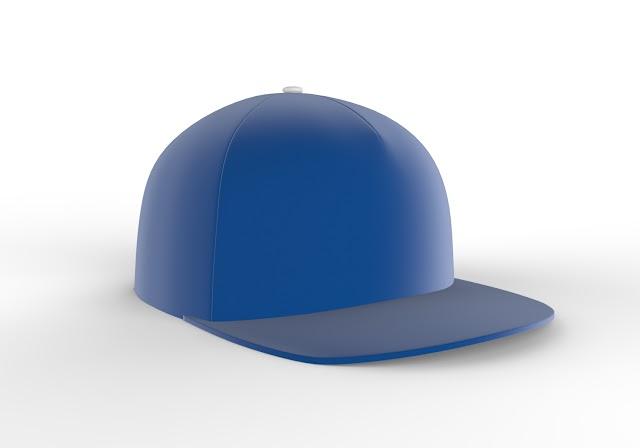 Baseball Hat 3d model free download obj,maya,low poly