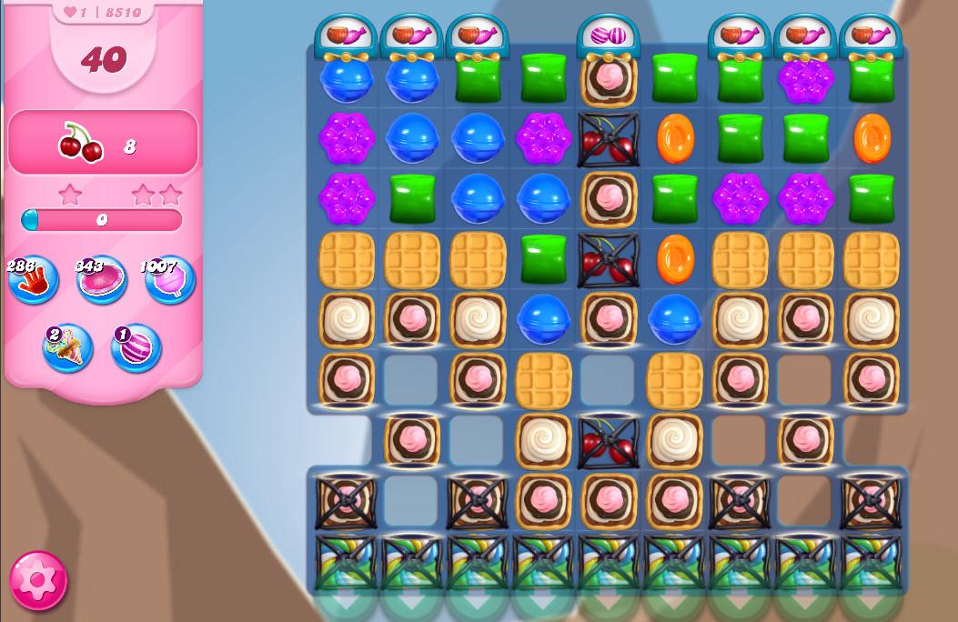 Candy Crush Saga level 8510