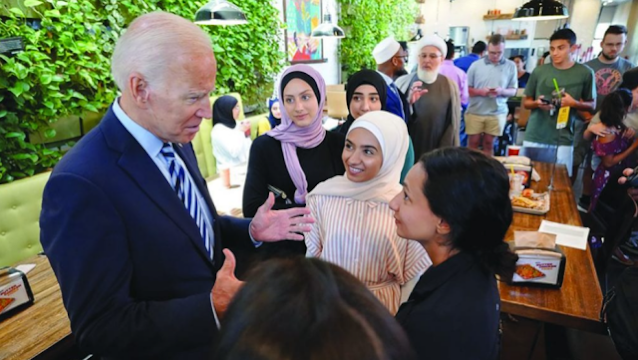 Joe Biden: Muslim Telah Memperkaya Amerika sejak Negara Kami Berdiri