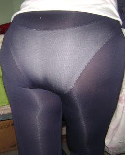 madura culona calzas transparentes