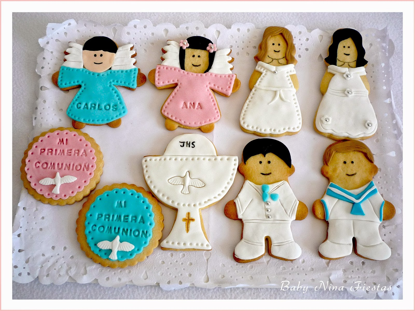 galleta decoradas comunión
