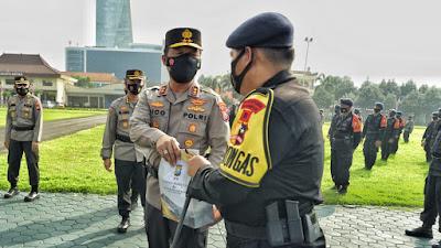 Kapolda Jatim: Terima Kasih Kepada Personil Korps Brimob Polri telah bantu Penanganan Covid-19 di Jatim