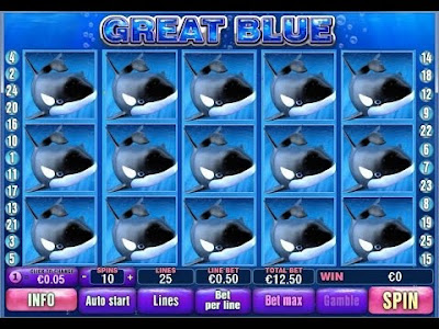 Slot game great blue and things you don't know about it