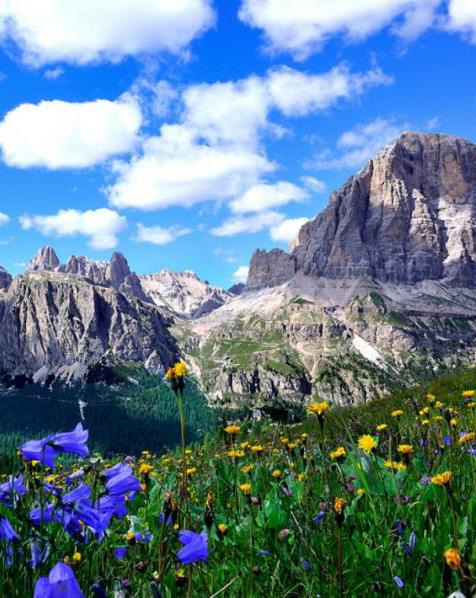 The Dolomites,Italy: