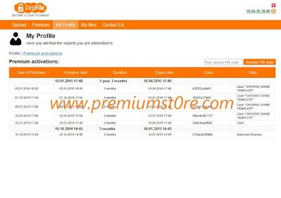 depfile.com premium account 2013