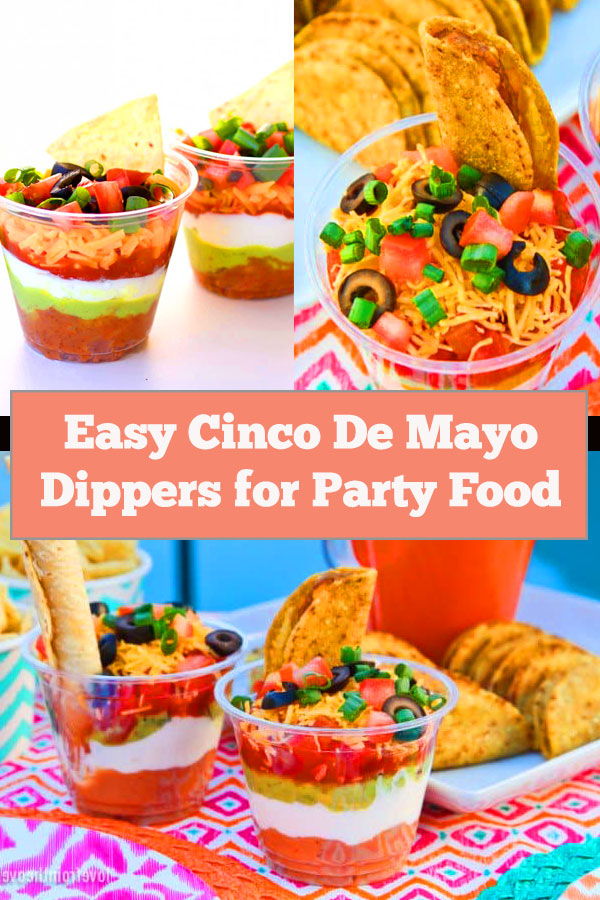 Easy Cinco De Mayo Dippers for Party Food