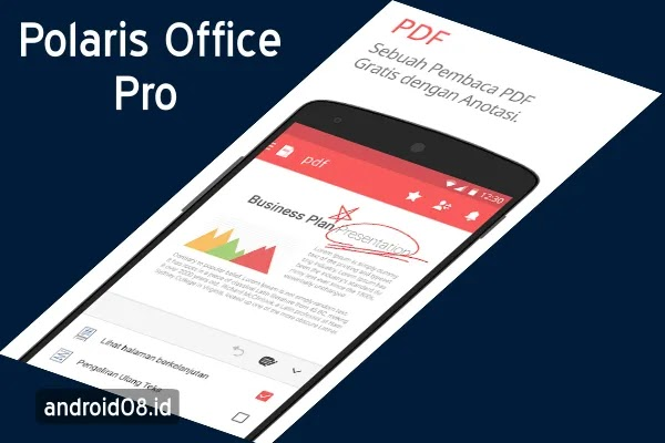 Download Polaris Office Pro+PDF Reader Terbaru