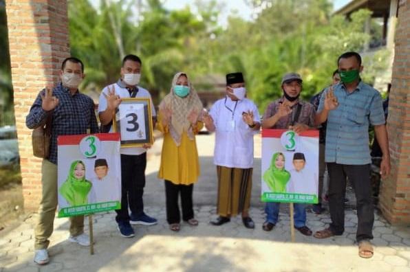 Ungkapan Tim  Relawan  serta Orang Dekat  Yang Mengawal Paslon Nomor Urut 3 Nessy Calviya Mustafa dan KH Imam Suhadi