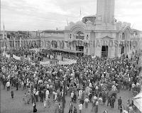 """1950 - Inauguración Estación de Omnibus """"Coronel Perón"""""""