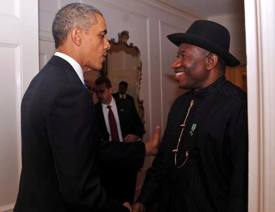 JONATHAN Photos Of President Goodluck Jonathan & Obama in New York