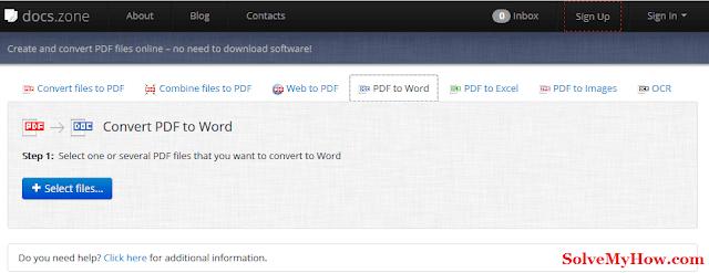 best pdf to word document converter online