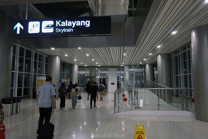 Sampai di Bandara Soekarno-Hatta