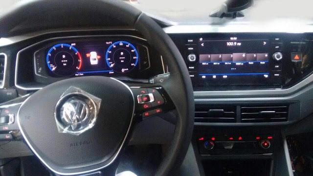 'Volkswagen Virtus (Polo Sedan 2018) - interior