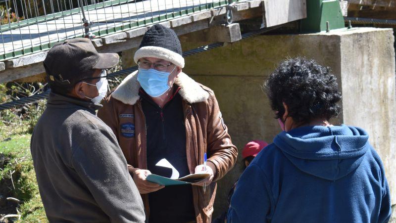 Piden recursos para ayudar a vecinos de San Juan de la Costa