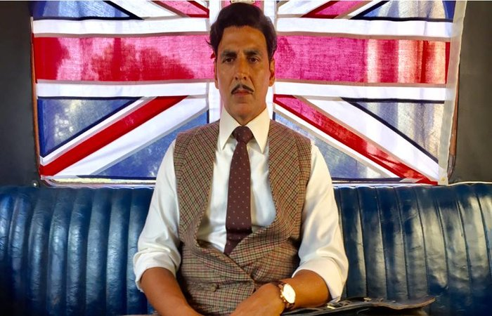 Akshay Kumar New Look In Gold Movie