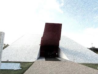 Auditório do Ibirapuera - Projeto de Niemeyer