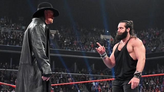 Elias deveria ter substituído Goldberg no combate contra The Undertaker na Arábia Saudita