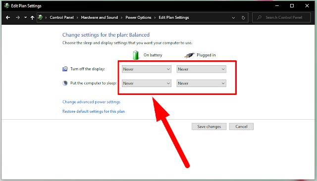 Cara Agar Layar Laptop Tidak Mati Sendiri Windows 10