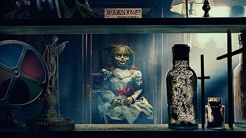 Проклятие Аннабель 3, кого показали в фильме ужасов, призраки, демоны, монстры, чудовища, артефакты Уорренов