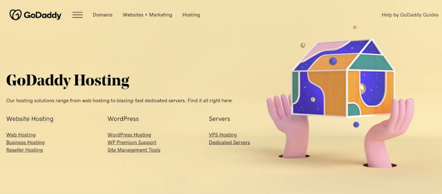 GoDaddy-hosting-homepage