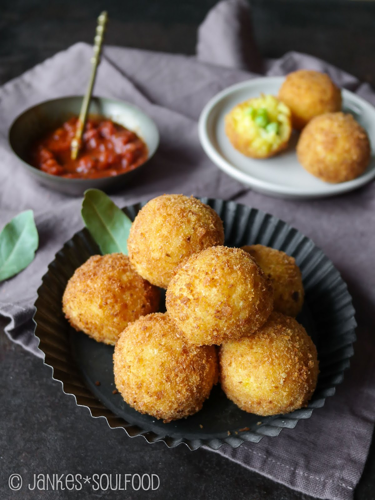 Sizilianische Reisbällchen von Jankes Soulfood