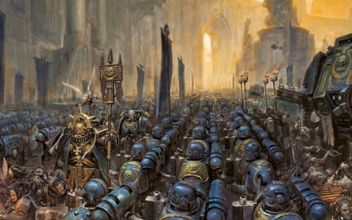 Warhammer 40k Space Marines: The Good The Bad And The Insulting: Space Marines Part 1