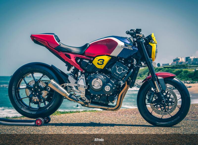 Những phiên bản độ độc đáo của Honda CB1000R Neo Sports Cafe