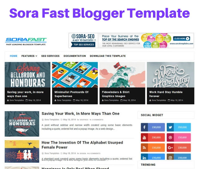 sora sast blogger template, bootstrap blogger templates free download, bootstrap