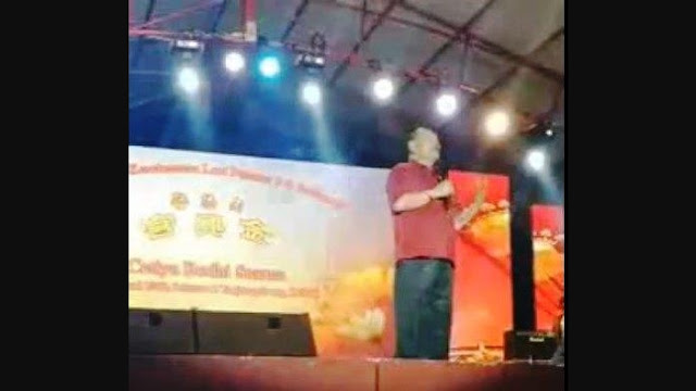 Pidato Berbahasa Tionghoa Sindir 'Kulit Hitam', Ketua DPD Nasdem Dilaporkan ke Polisi