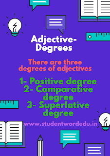 Adjective-degrees